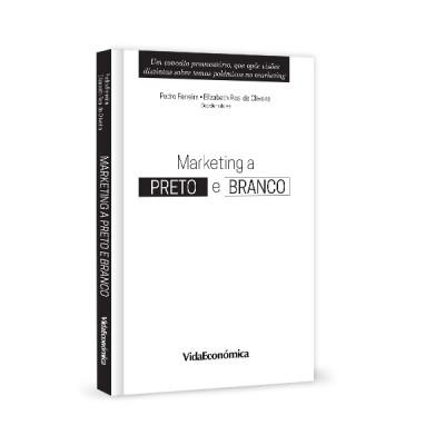 livro marketing a preto e branco
